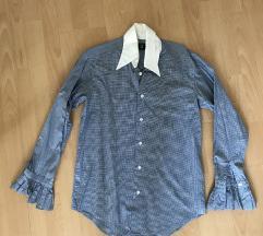apró kockás női ing