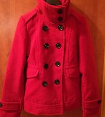 Piros kabát eladó