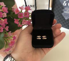 Chanel köves fülbevaló