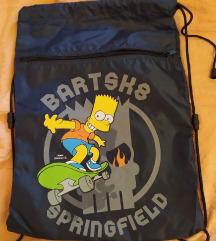 Bart Simpson-os gyerek tornazsák