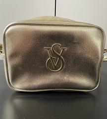 Victoria's Secret arany crossbody táska