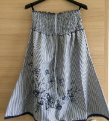 Pánt nélküli csíkos Reserved ruha