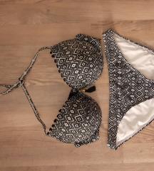 Azték mintás 85 C/D s bikini