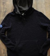 Újszerű ' Superdry Sea Dog' férfi kötött pulóver