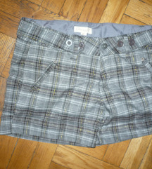 Kockás rövidnadrág short 40 új