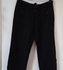 GAP fekete vászon nadrág, UK6-os