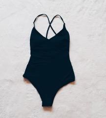 ÚJ! H&M egyberészes fekete bikini (SAJÁT KÉP!)
