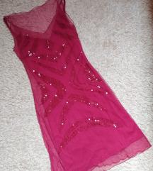 Magenta színű nyári ruha