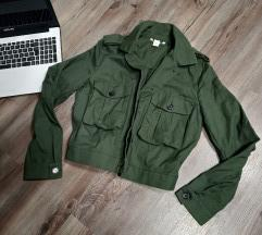 H&M khaki blézer