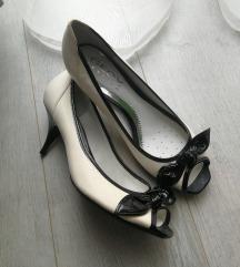 GEOX bőr alkalmi magassarkú cipő