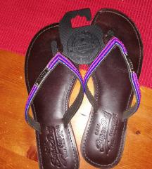 Superdry 38-as bőr flip flop papucs