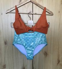 Narancssárga bikini felső