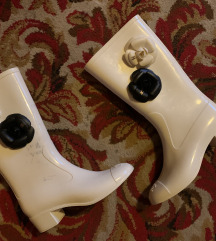 Eredeti Chanel gumicsizma rain boots flower