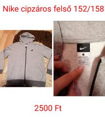 Nike cipzáros felső