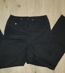 ESPRIT fekete bőszárú nadrág