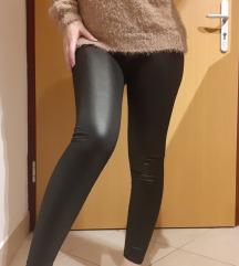 Új bőrhatású leggings xs