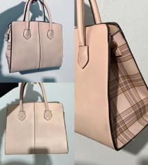 Púder színű táska