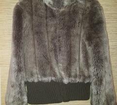 Mango M bunda/szőrmés kabát/dzseki