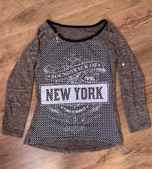 Új mintás pulóver S/M
