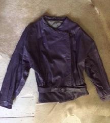 Valódi vintage valódi bőr jacket kabát 34-38 ig