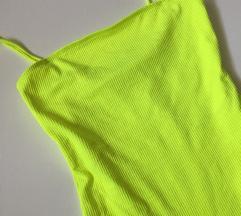 Neon sárga ZARA body