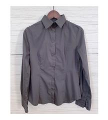 Karcsúsított sötétszürke ing