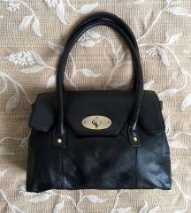 Fekete valódi bőr táska