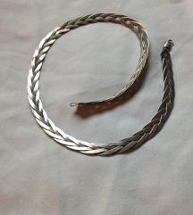 Ezüst (925) fonott nyaklánc