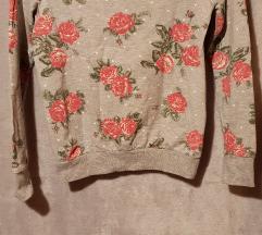 Rózsás pulóver