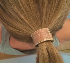 Fémgyűrűs hajgumi, új