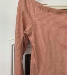 Mályva színű vállvillantós H&M felső