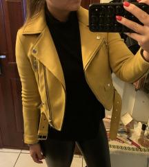 Zara hasított bőrkabát