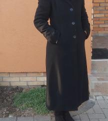 Hosszú szövet kabát