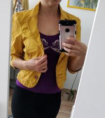 Okker sárga kabátka