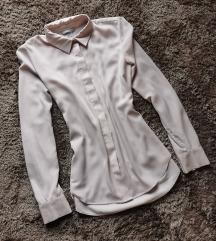H&M halvány púderrózsaszín ing XS