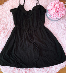 H&M fekete kisruha