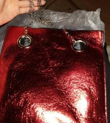 VADONATÚJ metál fényű táska eredeti csomagolásban