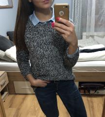 Tommy hilfiger kötött pulóver S