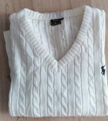Eredeti RALPH LAUREN hófehér pulóver
