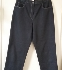 Sötétszürke vékony vászon nadrág, 21-es (kb.S-es)