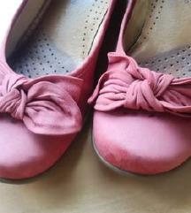 Bőr Balerina cipő (szép állapotú)