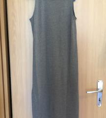 H&m oldalt felsliccelt hosszú ruha
