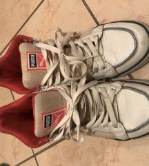 Magasszárú fehér Puma cipő