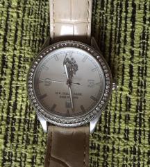 U.S. Polo női óra bézs szíjjal