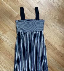Dorothy P. újszerű fekete-fehér csíkos ruha 36 S