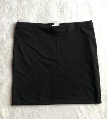 H&M fekete miniszoknya