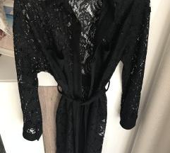 Zara csipke fekete ingruha