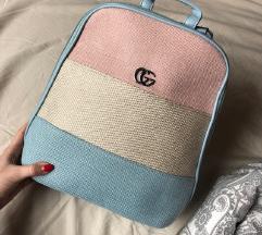 Színes Gucci vászon  hátizsák