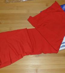 L - Új piros harisnya, méret: 3, vastagság: 60 den