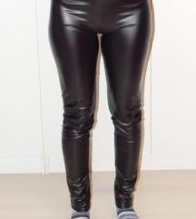 Műbőr magasderekú leggings (L-XL)